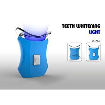Blue Teeth Whitening Accelerator Light, 6 X More Powerful LED Light, Whiten Teeth Faster
