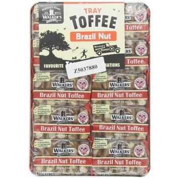 Walkers Brazil Nut Toffee, 3.5-Ounce Packages (Pack of 10)