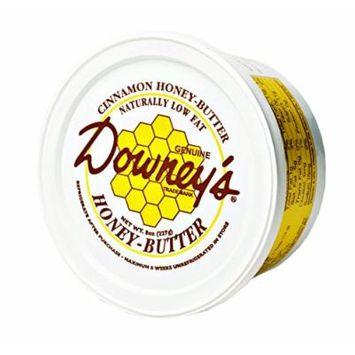 Downey's Natural Cinnamon Honey Butter, 8 Oz. Tub