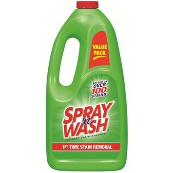 Resolve Spray and Wash Pre-Treat Refill, 60 Ounce - Pack of 2 (Packaging May Vary)