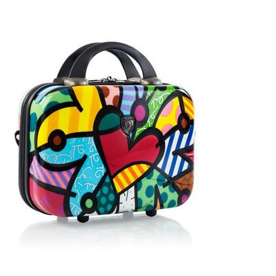 Heys Luggage, Britto Butterfly Love 7-in. Hardside Cosmetic Case