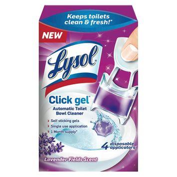 Lysol 4 ct Lavender Toilet Bowl Cleaners
