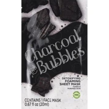 Beauty 360 Charcoal and Bubbles Foaming Sheet Mask