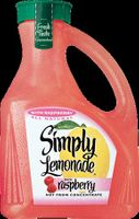 Simply Lemonade with Raspberry Juice - 52 fl oz uploaded by Tatiana E.