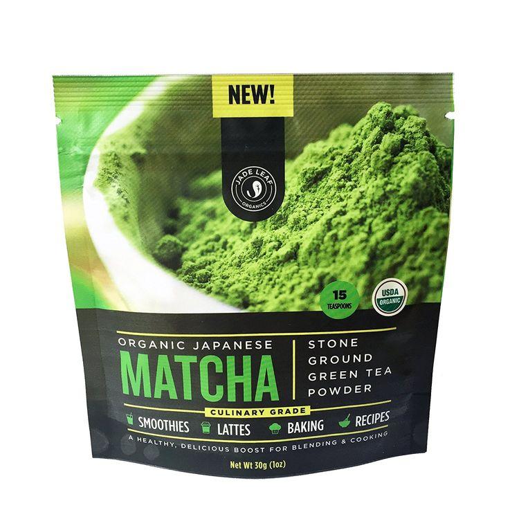 Jade Leaf Matcha Green Tea Powder Organic