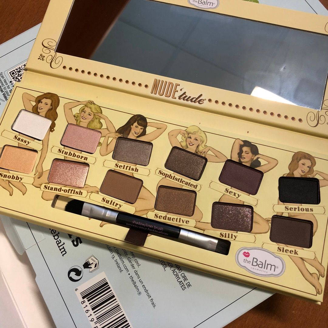 Photo of The Balm Nude'tude Palette by Eliza L.