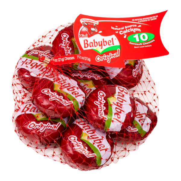 The Laughing Cow Mini Babybel® Original Cheeses - 10 CT