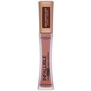 L'Oréal Paris Pro Matte Les Chocolats Scented Liquid Lipstick