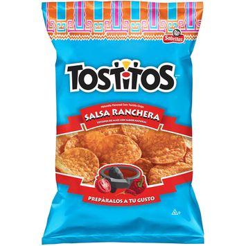 Frito Lay Tostitos Salsa Ranchera Tortilla Chips, 3.13 Oz.