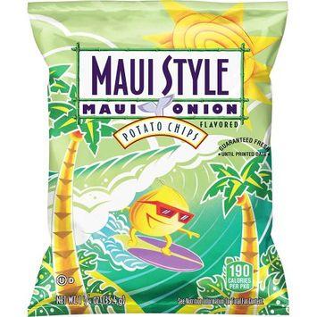 Frito Lay Maui Style Maui Onion Flavored Potato Chips, 28 Count, 1.25 oz Bags