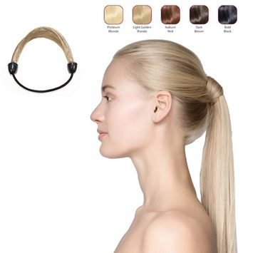 Hollywood Hair Elastic Hair Tie - Platinum Blonde