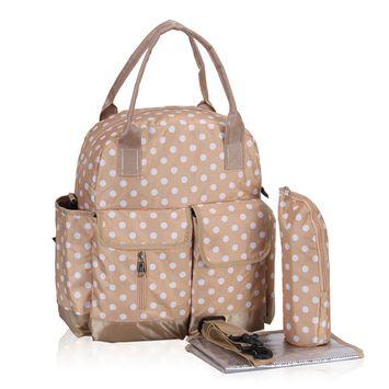 Hynes Eagle Polka Dots Diaper Backpack