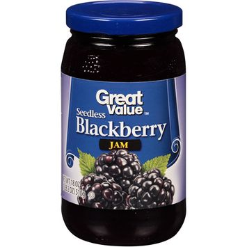 Great Value: Blackberry Preserves, 18 Oz