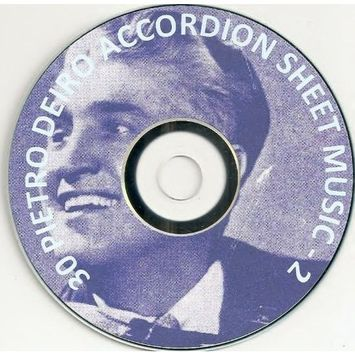Great Value 30 Pietro Deiro Accordion / Accordian Sheet Music -2