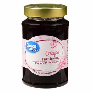 Great Value Grape Fruit Spread, 17.25 oz