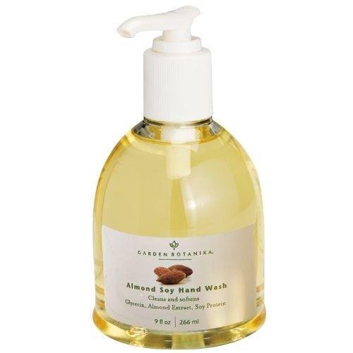 Garden Botanika Almond Soy Hand Wash, 9 Fluid Ounce