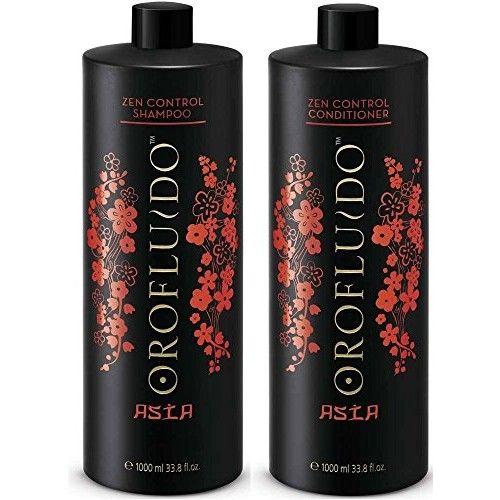 Control Shampoo + Conditioner, Orofluido Asia Zen 33.8 oz/1000 ml Control Frizz