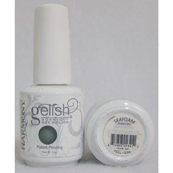 Harmony Gelish UV Soak Off Gel Polish Sea Foam