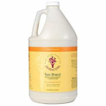 Jessicurl Too Shea! Extra Moisturizing Conditioner, Citrus Lavendar, Gallon.