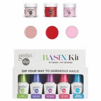 Gelish Basix Acrylic Powder Nail Polish Dip Manicure Starter Kit & 3 Colors