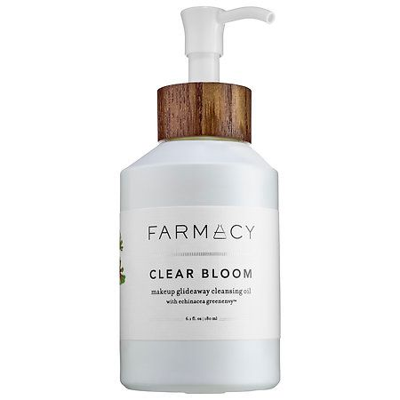 Farmacy Clear Bloom Makeup Glideaway Cleansing Oil 6.1 oz