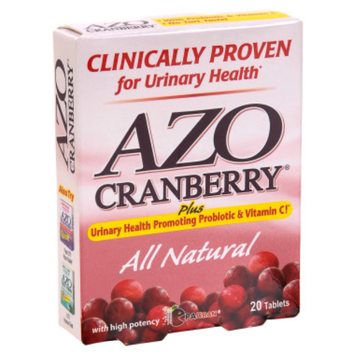 Azo AZO Cranberry Urinary Health Tablets - 20 ct