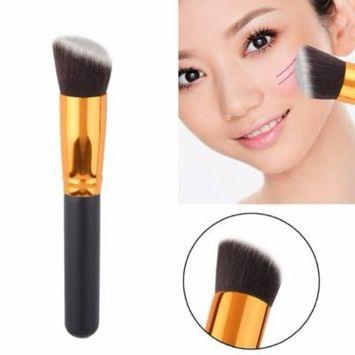 Makeup Brush Cosmetic Angled Flat Top Brush Face Makeup Blusher Powder Foundation Tool