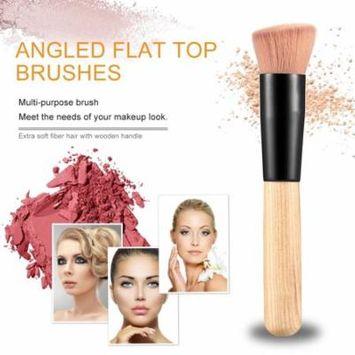 Makeup brush Professional Soft Fiber Angled Flat Top Foundation Powder Brush Cosmetic Tool