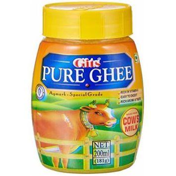 Gits Pure Cow Ghee, 200ml (Jar)