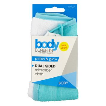 Body Benefits By Body Image Dual Sided Microfiber Cloth, 1.0 CT