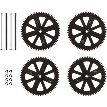 PARROT 070047AA Gears Shafts, Set of 4