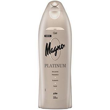 Magno Platinum Shower Gel Bottle 550ml by Magno Platinum