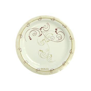 Solo HWP6-J8001 6 in Symphony Paper Plate, Heavy Weight (Case of 1000)