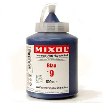 Mixol Universal Tints, Blue, #09, 500ml