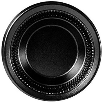 Dart 35BWBQ 3.5-4 oz Black Laminated Foam Bowl (Case of 1000)