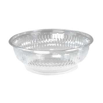 Dart C32B 32 oz Clear OPS Plastic Bowl (Case of 252)