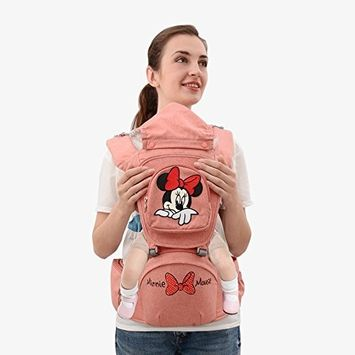 Disney Mickey Style Baby Carrier with Hip Seat, Soft Carrier, Soft Sling for All Season