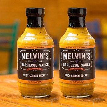 Melvin's Barbecue Spicy Golden Secret BBQ Sauce