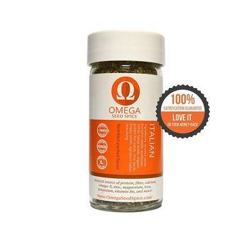 Omega Seed Spice™ Seed-based Superfood Italian Seasoning - Nutrition-packed Flavor - High In Protein, Fiber, Essential Vitamins, Minerals & Amino Acids [Italian Seasoning]