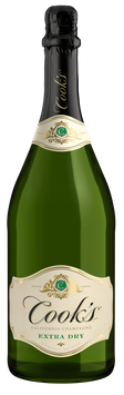 Cook's California Champagne Extra Dry White Sparkling Wine