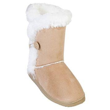 Dawgs Women's 9-inch 3-Button Microfiber Boots