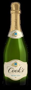 Cook's California Champagne Moscato White Sparkling Wine
