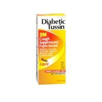 Diabetic Tussin Diabetic Tussin Dm Cough Suppressant/Expectorant, 4 oz (Pack of 2)