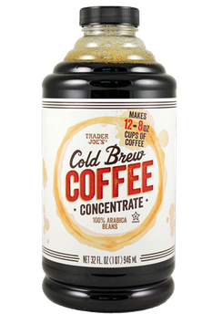 Trader Joe's Cold Brew Coffee Concentrate 100% Arabica Beans