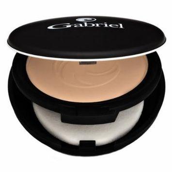 Gabriel Cosmetics, Vegan,Dual Powder Foundation, MediumBeige, .32 Ounce