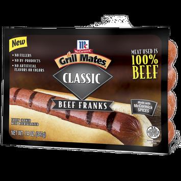 McCormick® Grill Mates® Classic Beef Franks