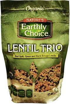 Natures Earthly Choice LENTIL, OG2, TRIO, (Pack of 6)