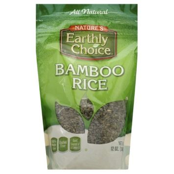 Natures Earthly Choice RICE, BAMBOO, GLUTEN FREE, (Pack of 6)