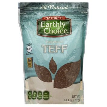 Natures Earthly Choice TEFF, GLUTEN FREE, (Pack of 6)
