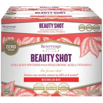 Beauty Shot - WATERMELON MINT (6 Bottles) by Reserveage Nutrition at the Vitamin Shoppe